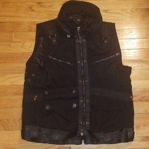 Black urban tactical vest